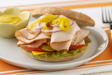 Spicy Turkey Bagel | Nutritional Information | Jennie-O® Turkey