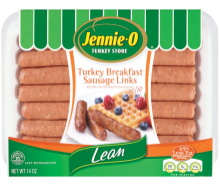 Lean Turkey Breakfast Sausage Links