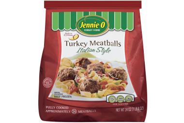 Fully Cooked Italian Style Turkey Meatballs