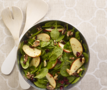 Make-Ahead Apple Cranberry Walnut Salad