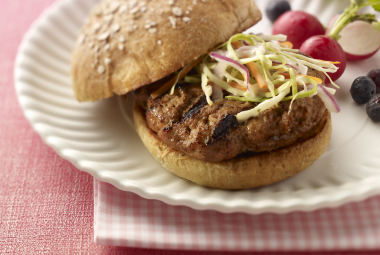 Southern BBQ Turkey Burger