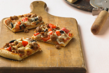 Sicilian Turkey Pizza | Nutritional Information | Jennie-O® Turkey