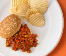 Veggie-Packed Turkey Sloppy Joes