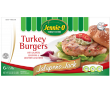 Jalapeno Jack Turkey Burgers