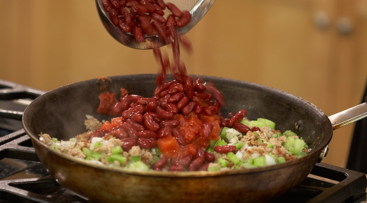 Red Beans Turkey & Rice