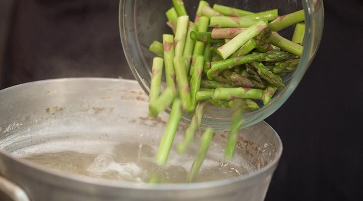Asparagus Turkey Penne