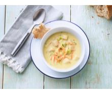 Creamy Dijon Turkey Soup