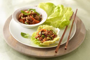 Asian Turkey Lettuce Wraps | Nutritional Information ...