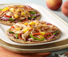 Sweet Barbeque Turkey Pizza