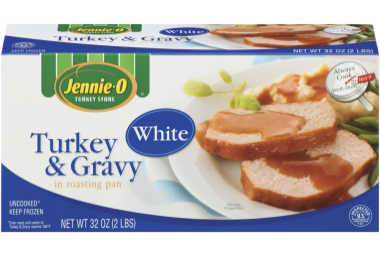 White Turkey & Gravy