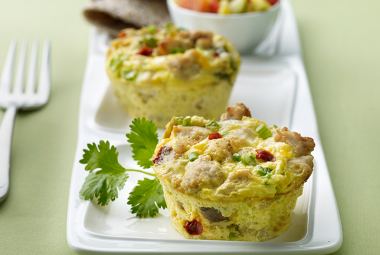 Mexican Turkey Frittatas