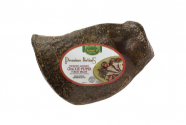 Cracked Pepper Premium Portion Turkey Breast