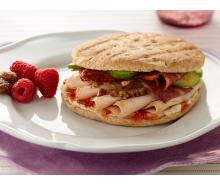 Sweet & Savory Turkey Panini