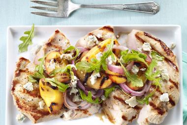 Turkey Breast Steak with Peaches & Arugula   Nutritional Information ...