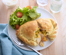 Turkey & Broccoli Calzone