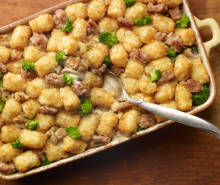 Turkey Tater Tot Casserole