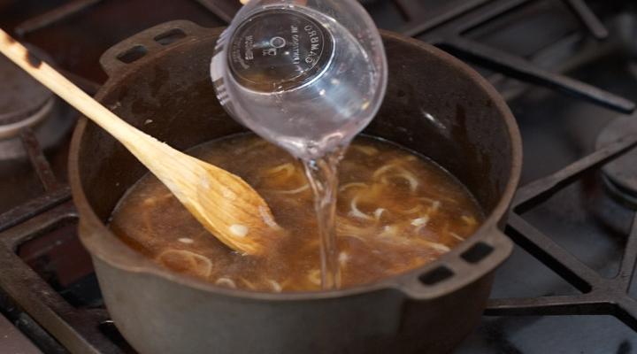 Bistro Turkey-Onion Soup