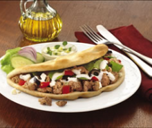 Mediterranean Turkey Pita 