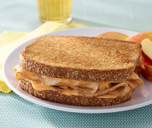 Tangy Toasted Turkey & Cheese Sandwiches