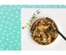 Turkey Mushroom & Barley Soup