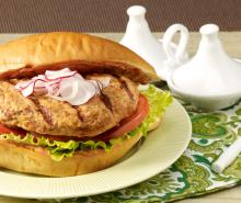 Moroccan-Style Turkey Burgers
