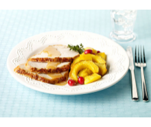 Turkey Roast with Squash