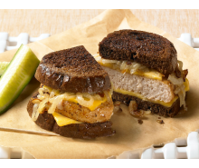 Mouth-Watering Turkey Patty Melts