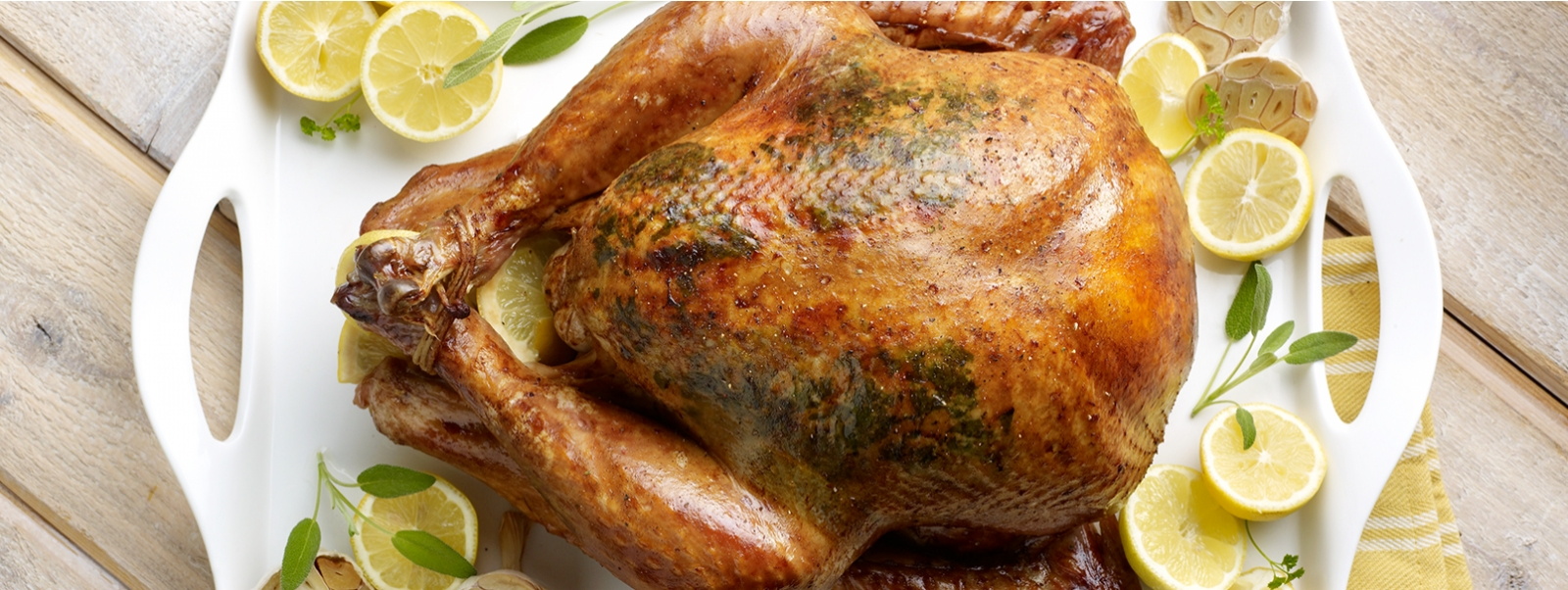 Lemon Herb Roasted Turkey