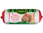 Lean Hot Turkey Breakfast Sausage Roll