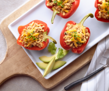 Hannah's Turkey Stuffed Peppers
