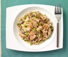 Turkey & Mushroom Risotto