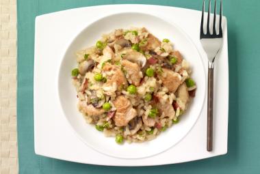 Turkey & Mushroom Risotto   Jennie-O® Turkey