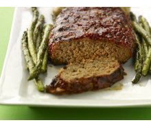 Grilled Turkey Meatloaf