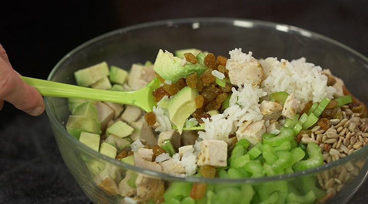 ... , Turkey & Rice Salad | Nutritional Information | Jennie-O® Turkey