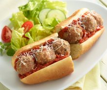 Turkey Meatball Sub