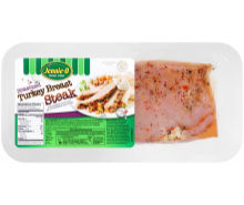Seasoned Turkey Breast Steak