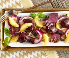 Roasted Beet & Orange Salad