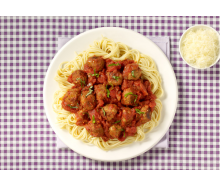 Spaghetti & Turkey Meatballs