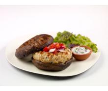 Mediterranean Style Turkey Burger