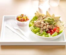 Turkey Taco Salad with Salsa
