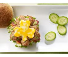 Shamrock Turkey Burger