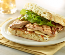 Grilled Turkey Sandwich