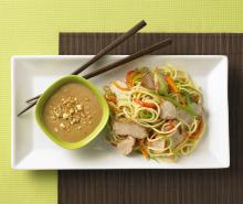 Asian Noodle Turkey Salad