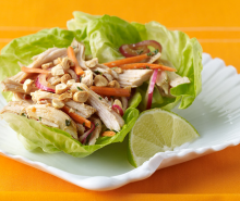 Thai-Style Turkey Lettuce Wraps 