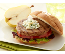Turkey Burger with Yogurt