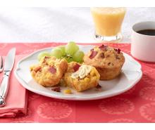 Chipotle & Turkey Bacon Corn Muffins