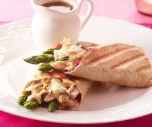 Cranberry, Turkey & Brie Wrap
