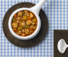 Hearty Turkey & Bean Soup