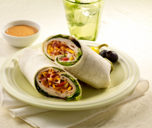 Amarillo Turkey Club Wrap