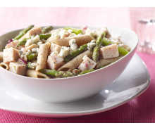 Asparagus Turkey Penne